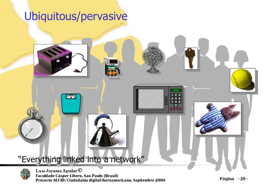 Ubiquitous/pervasive…Computing