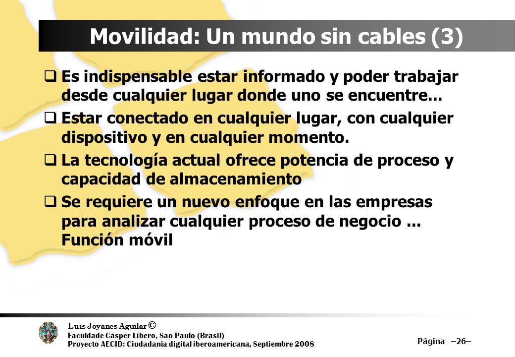 Movilidad: Un mundo sin cables (3)