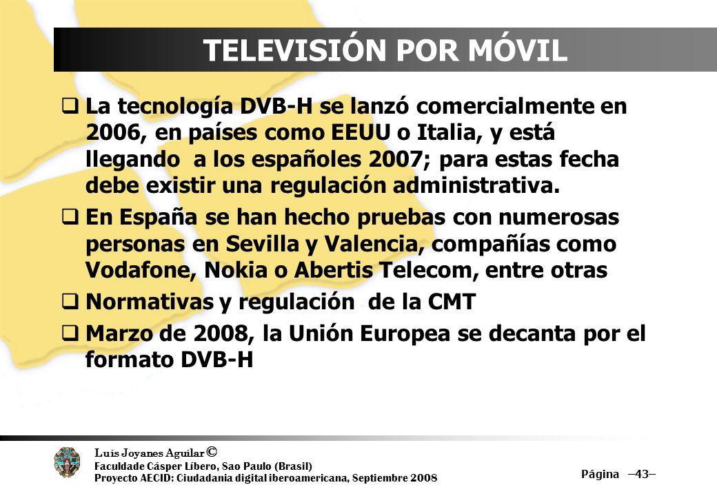 TELEVISIÓN POR MÓVIL