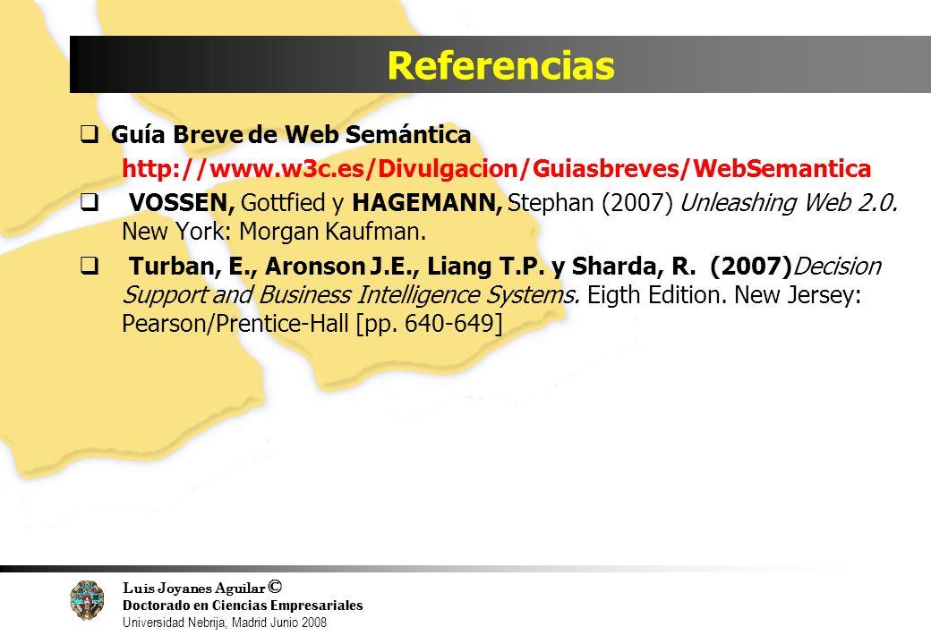 Referencias Guía Breve de Web Semántica