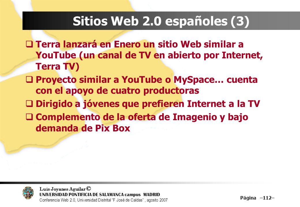 Sitios Web 2.0 españoles (3)