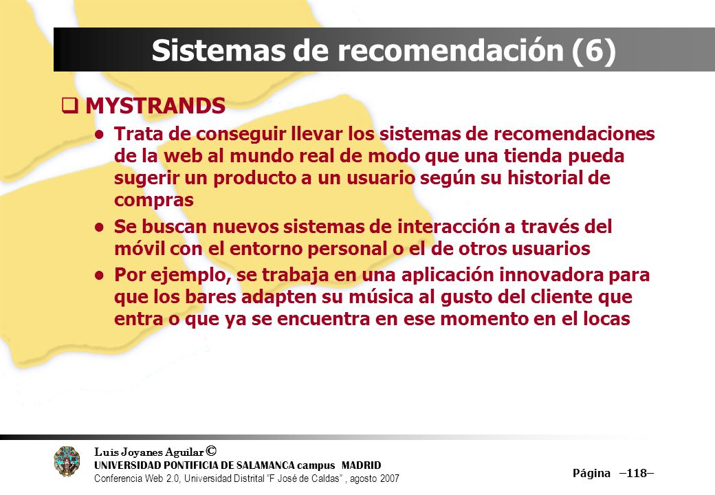 Sistemas de recomendación (6)