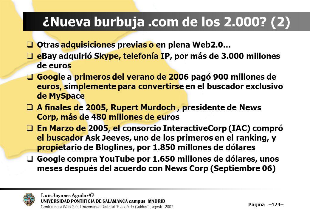 ¿Nueva burbuja .com de los 2.000 (2)
