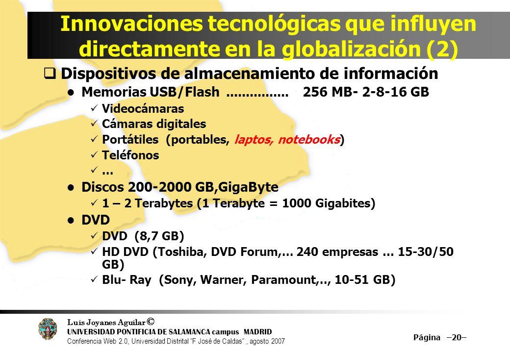Innovaciones tecnológicas que influyen directamente en la globalización (2)