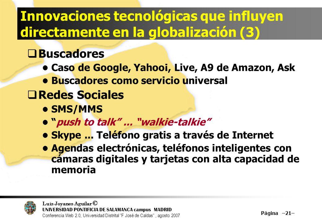Innovaciones tecnológicas que influyen directamente en la globalización (3)