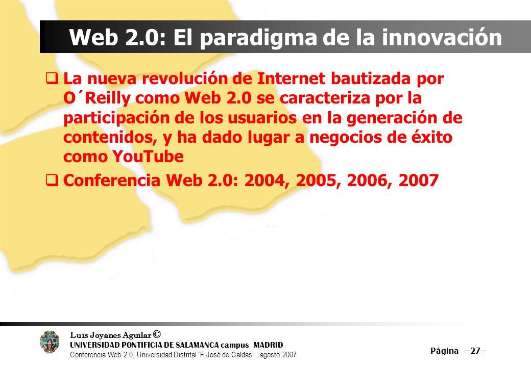 Web 2.0: El paradigma de la innovación