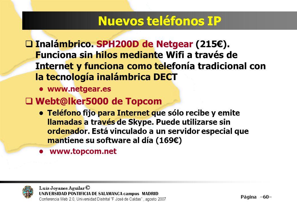 Nuevos teléfonos IP