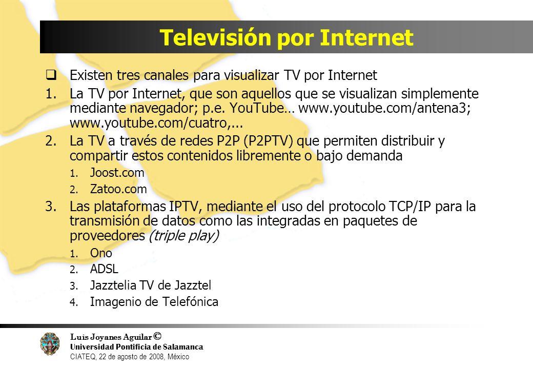 Televisión por Internet