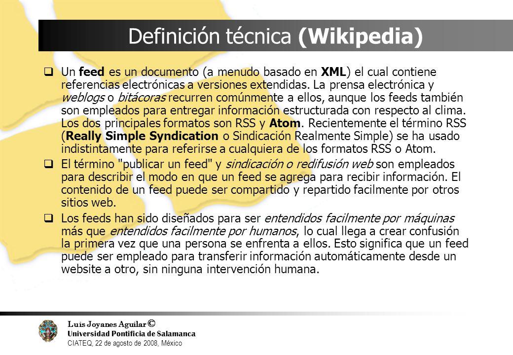 Definición técnica (Wikipedia)