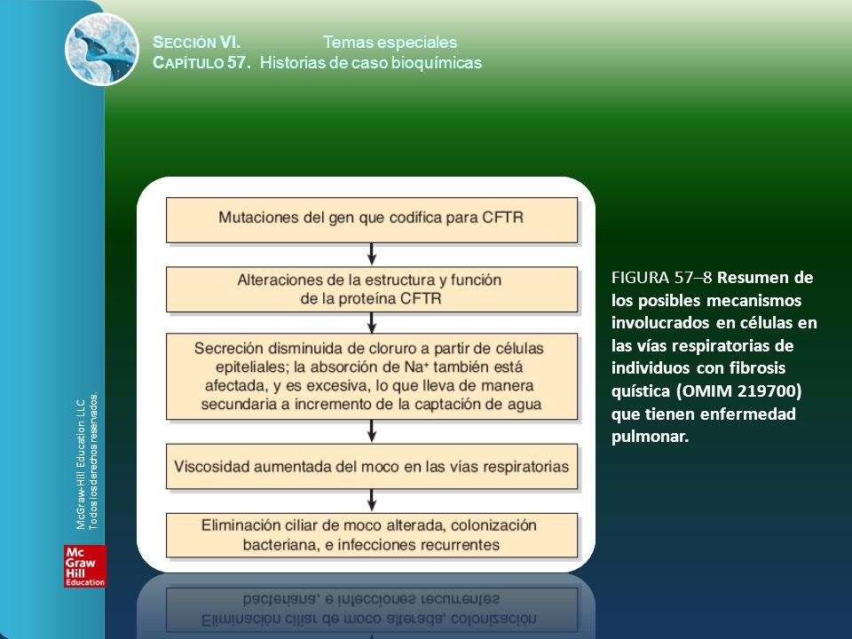 FIGURA 57–8 Resumen de los posibles mecanismos