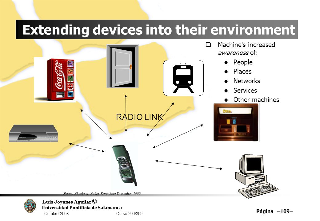 Extending devices into their environment