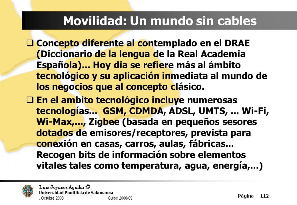 Movilidad: Un mundo sin cables