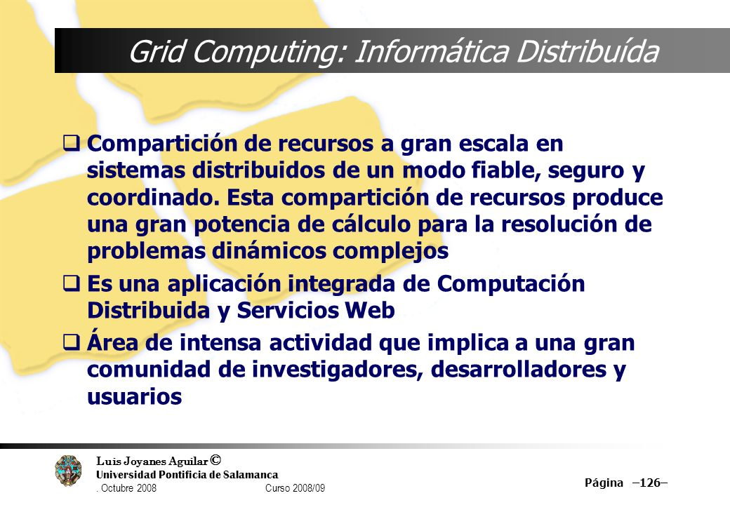 Grid Computing: Informática Distribuída