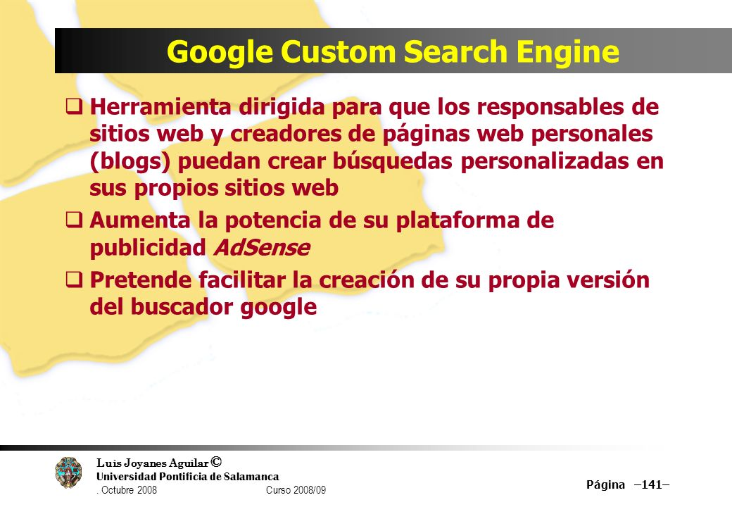 Google Custom Search Engine