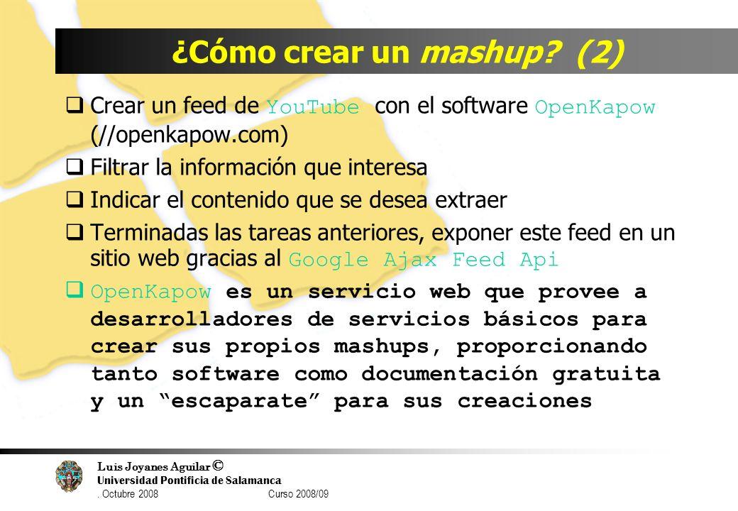 ¿Cómo crear un mashup (2)