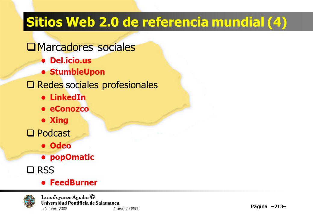 Sitios Web 2.0 de referencia mundial (4)