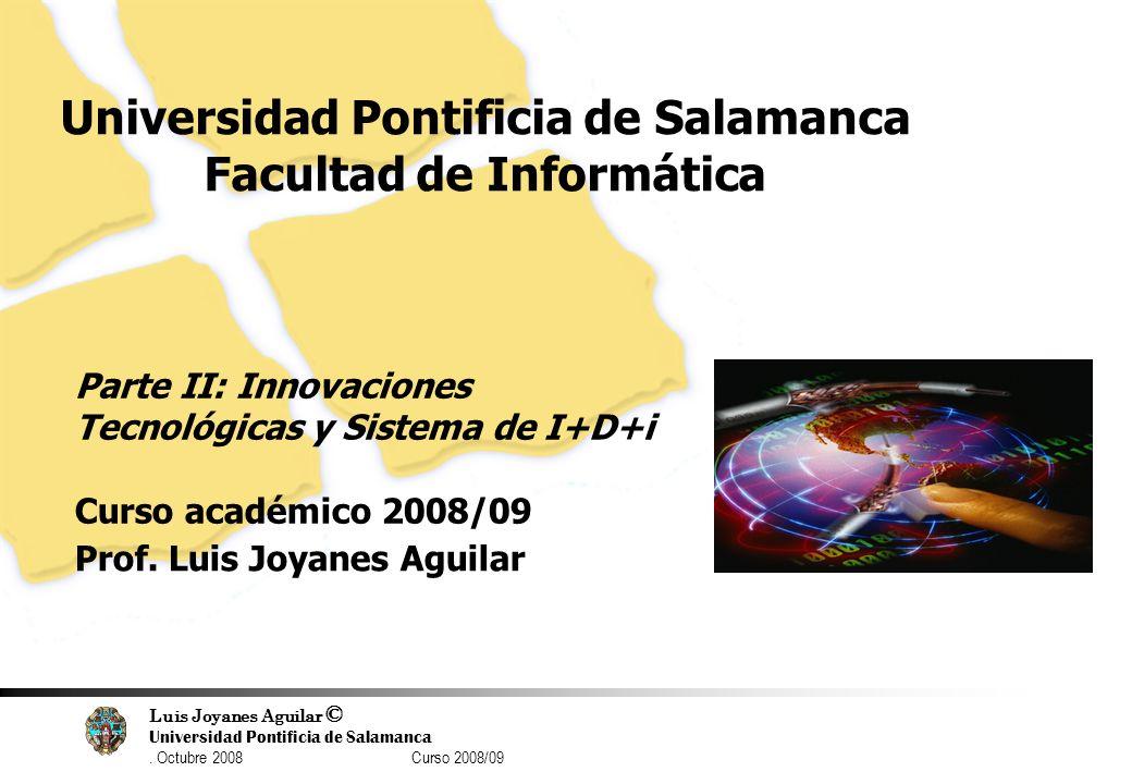 Universidad Pontificia de Salamanca Facultad de Informática