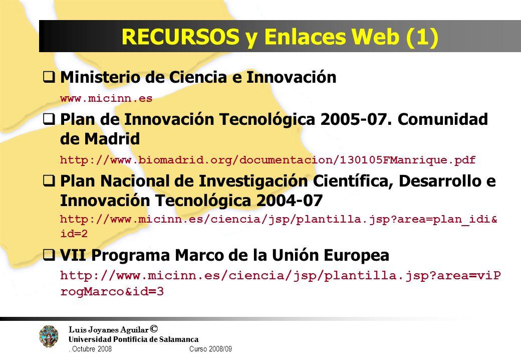 RECURSOS y Enlaces Web (1)