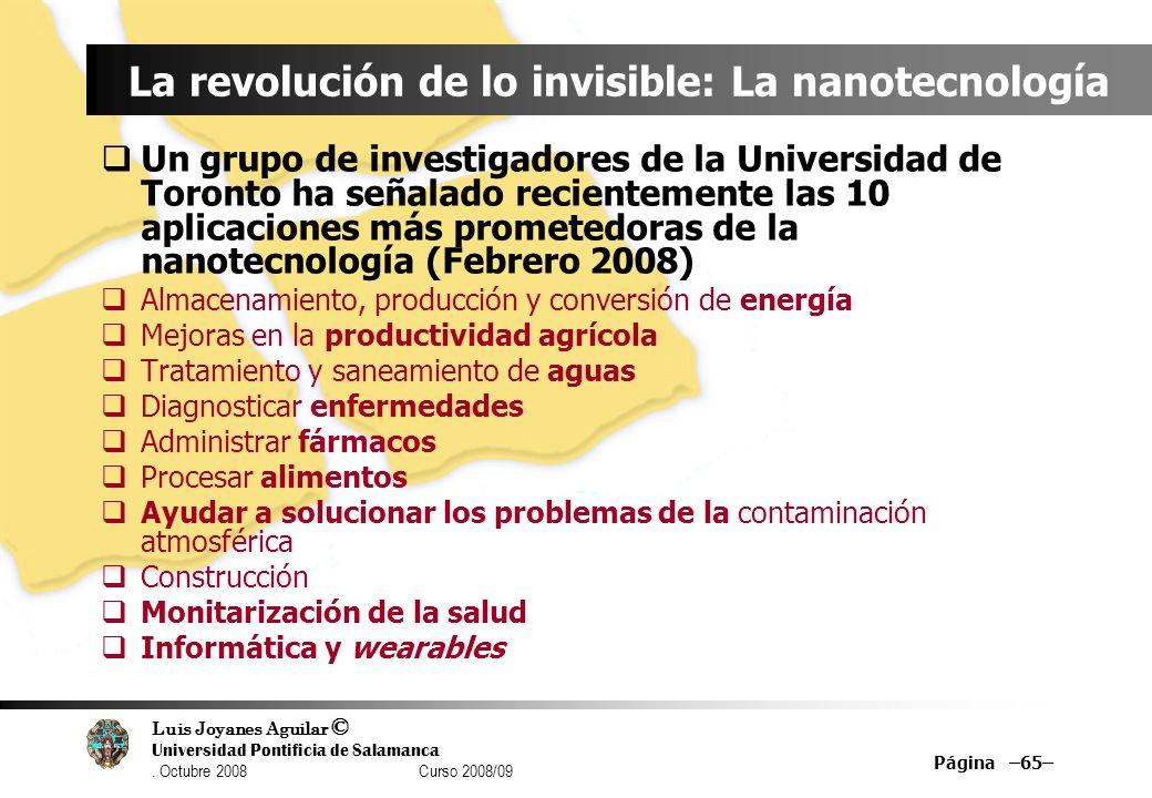 La revolución de lo invisible: La nanotecnología