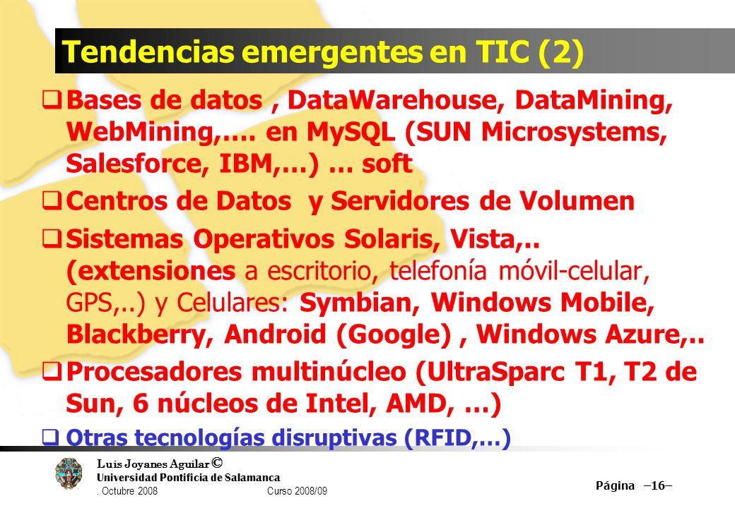 Tendencias emergentes en TIC (2)