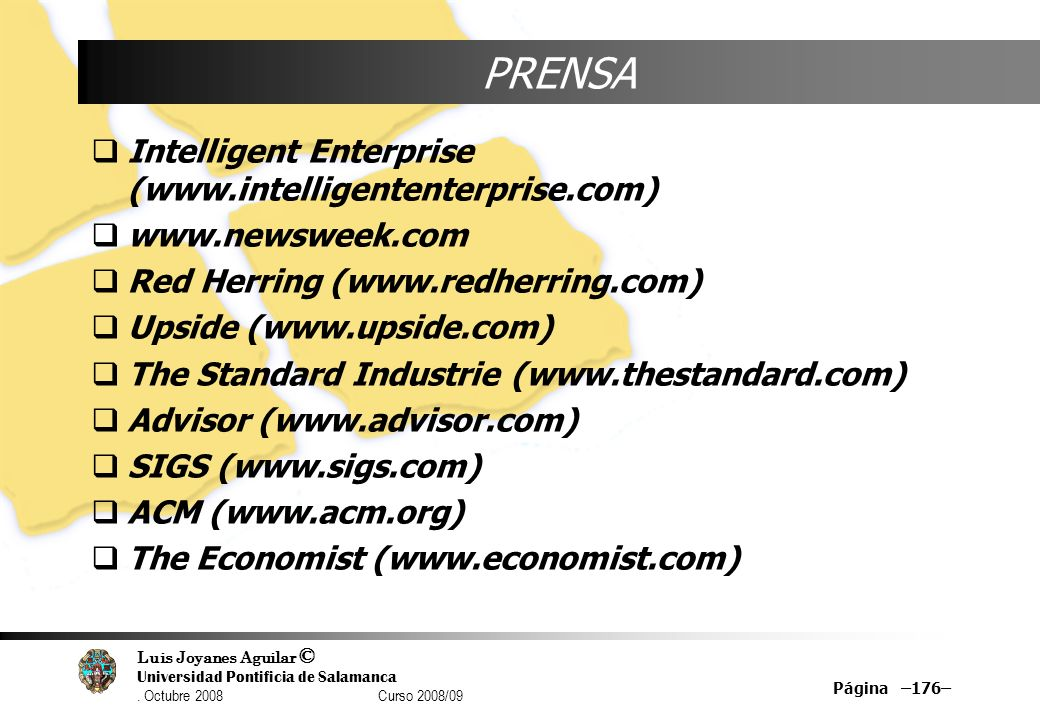 PRENSA Intelligent Enterprise (www.intelligententerprise.com)