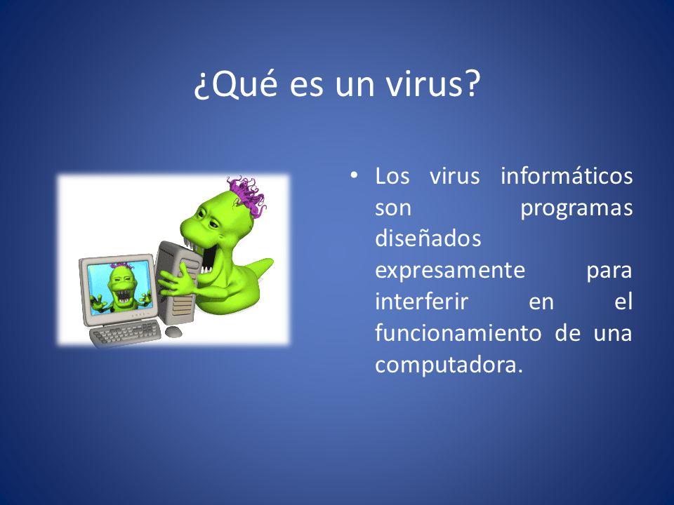 K Es Un Bisonte VIRUS INFORMATICOS. - ...