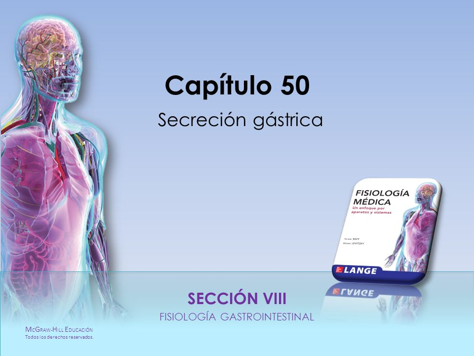 Capítulo 50 Secreción gástrica