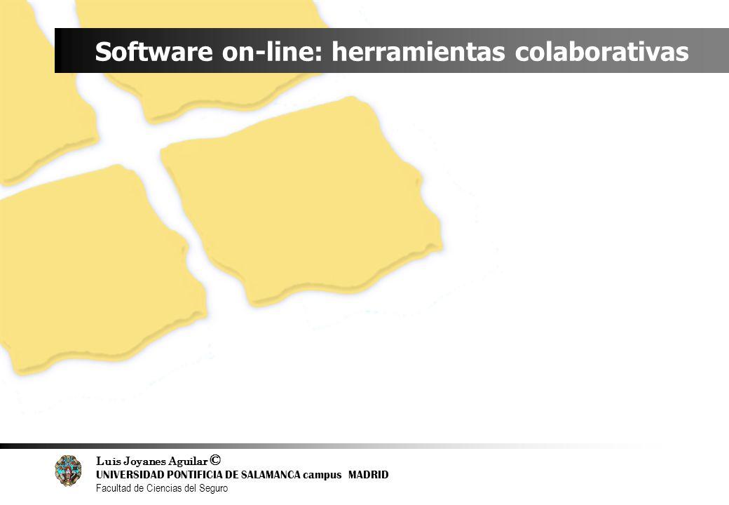 Software on-line: herramientas colaborativas