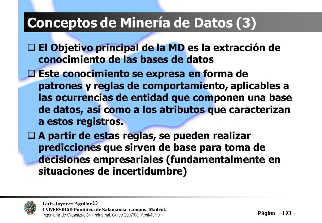Conceptos de Minería de Datos (3)