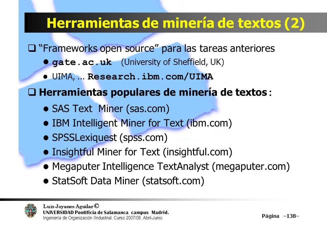 Herramientas de minería de textos (2)