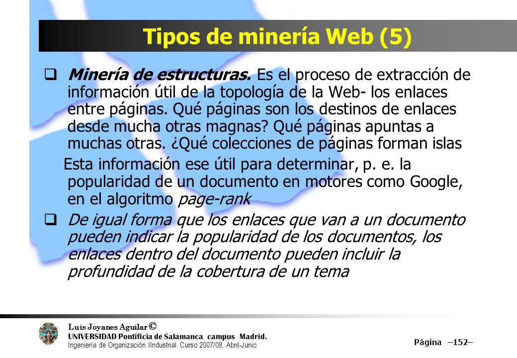 Tipos de minería Web (5)