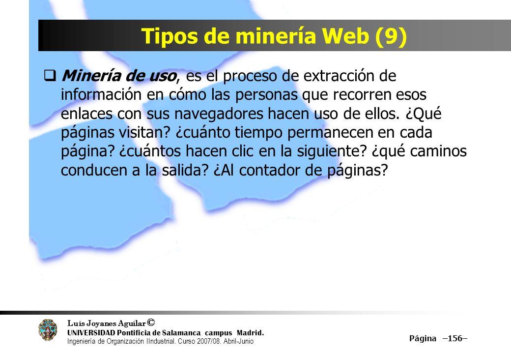 Tipos de minería Web (9)
