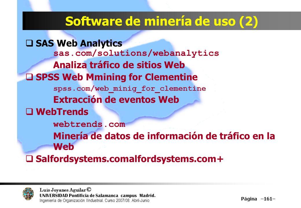 Software de minería de uso (2)