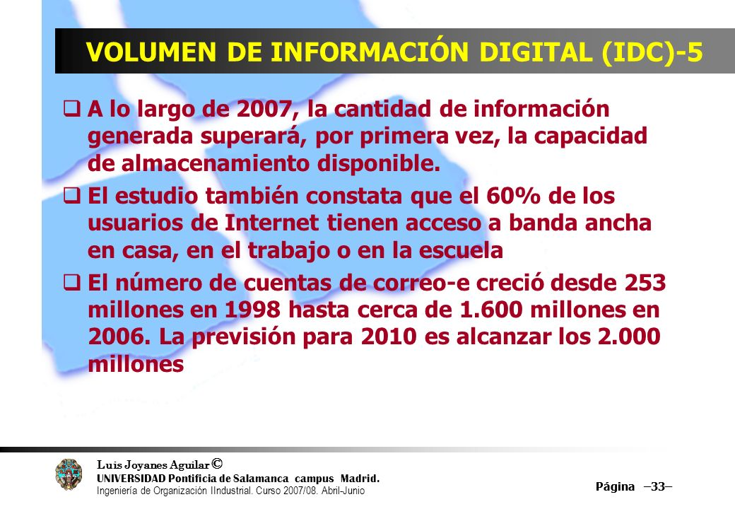 VOLUMEN DE INFORMACIÓN DIGITAL (IDC)-5