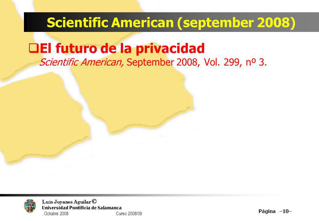 Scientific American (september 2008)