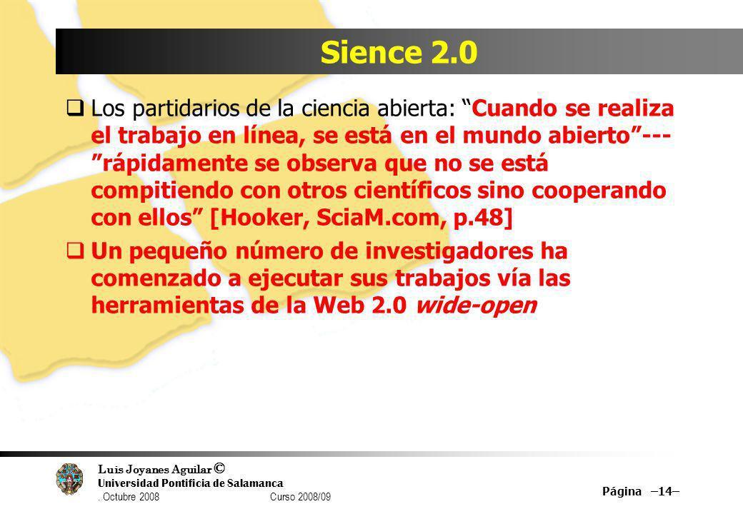 Sience 2.0