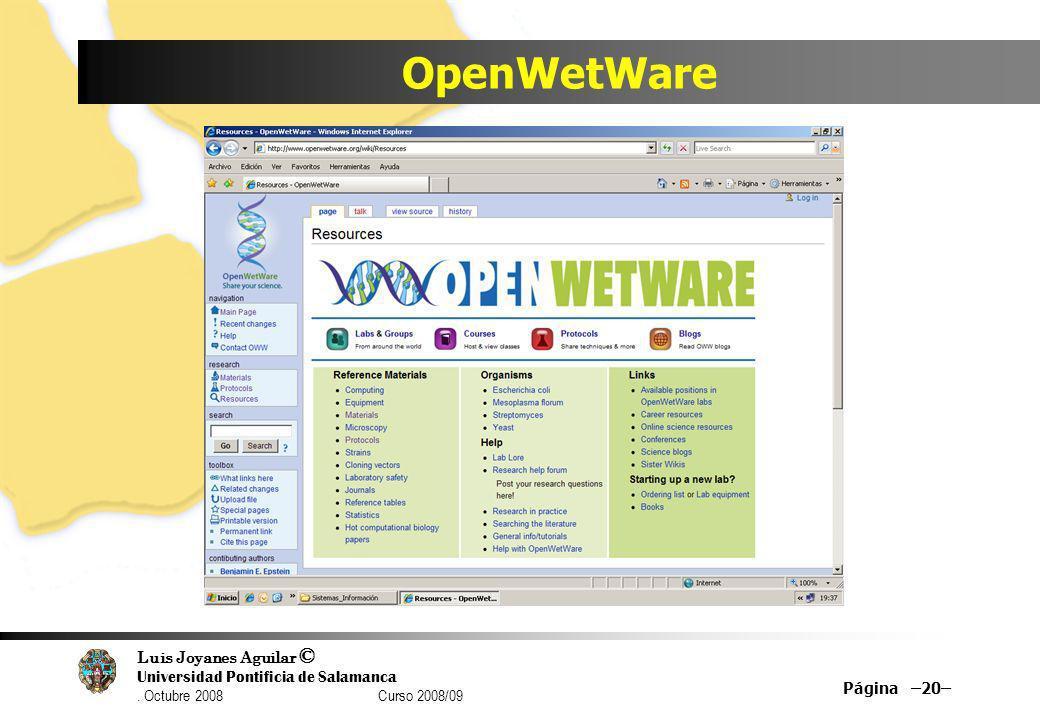 OpenWetWare