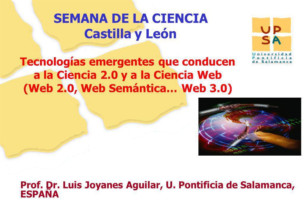 SEMANA DE LA CIENCIA Castilla y León