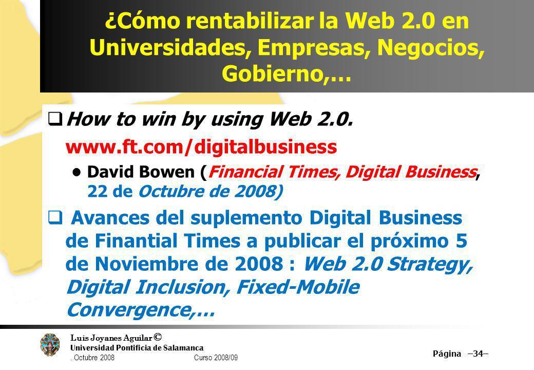 ¿Cómo rentabilizar la Web 2