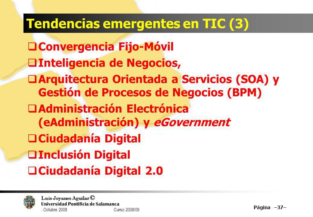 Tendencias emergentes en TIC (3)