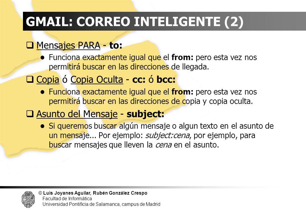 GMAIL: CORREO INTELIGENTE (2)