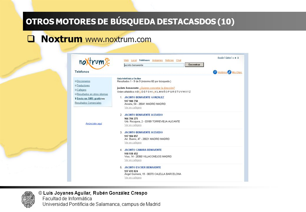 INDICE Noxtrum www.noxtrum.com