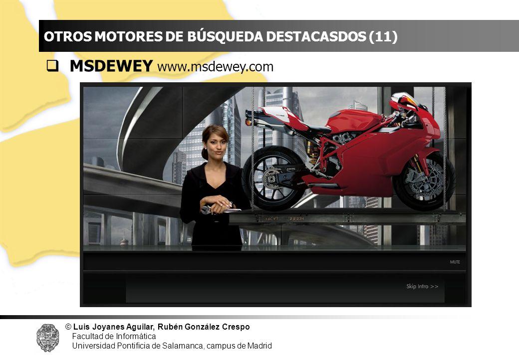 INDICE MSDEWEY www.msdewey.com