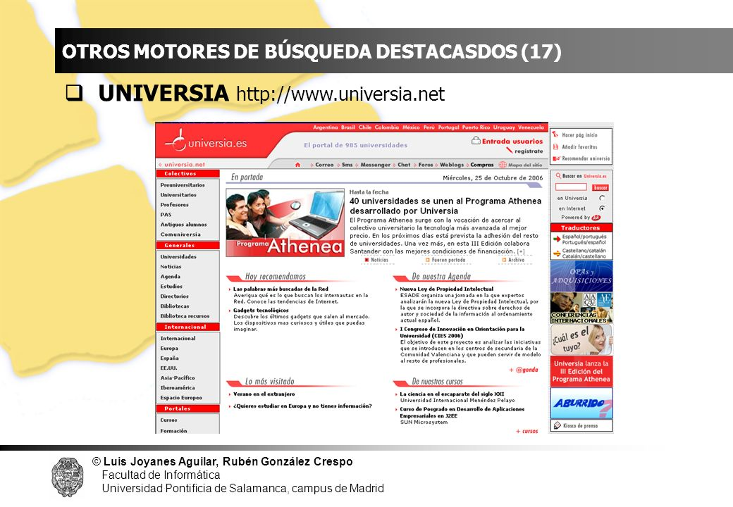 INDICE UNIVERSIA http://www.universia.net