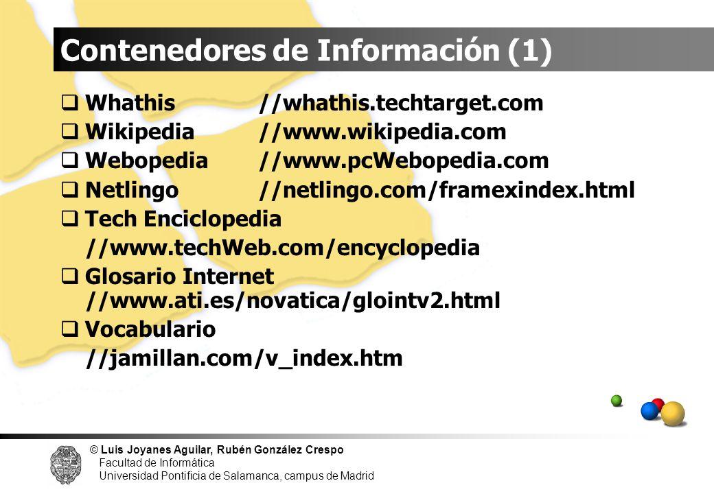Contenedores de Información (1)