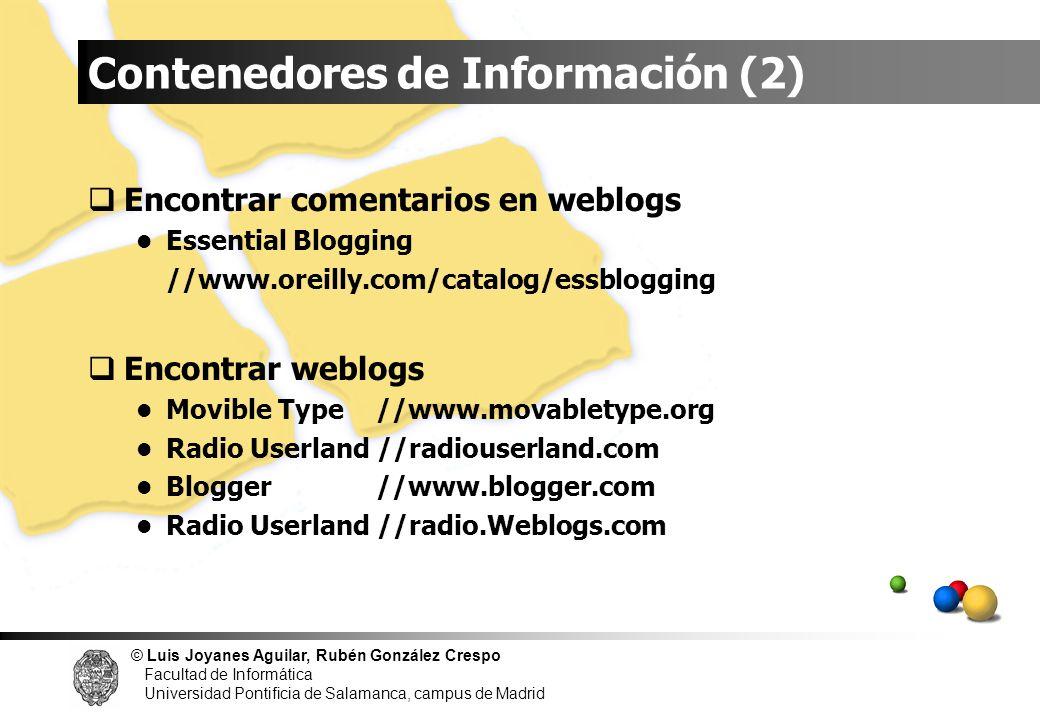 Contenedores de Información (2)