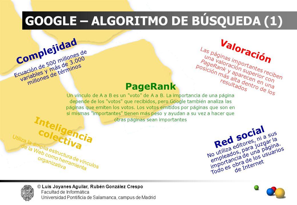 GOOGLE – ALGORITMO DE BÚSQUEDA (1)