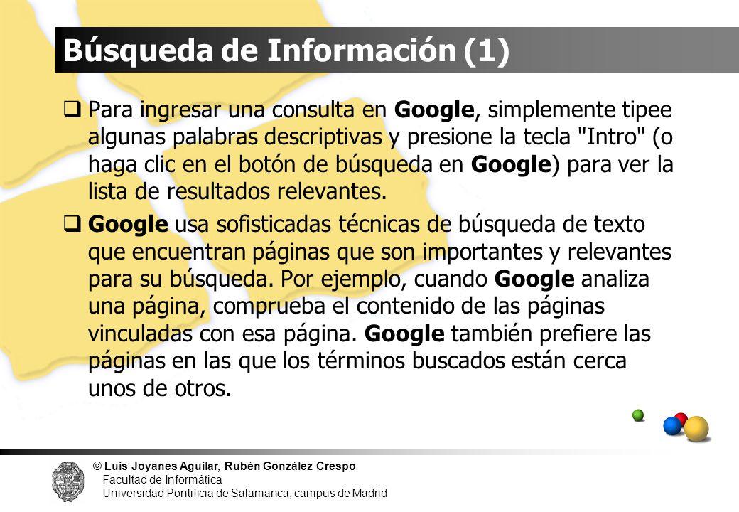 Búsqueda de Información (1)