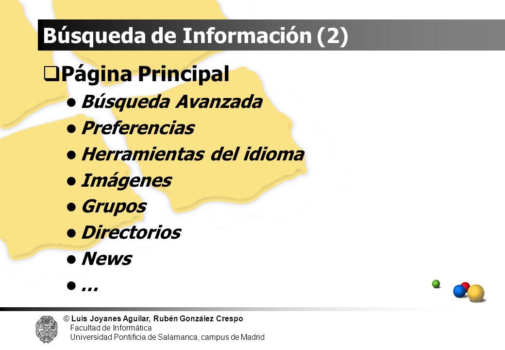Búsqueda de Información (2)