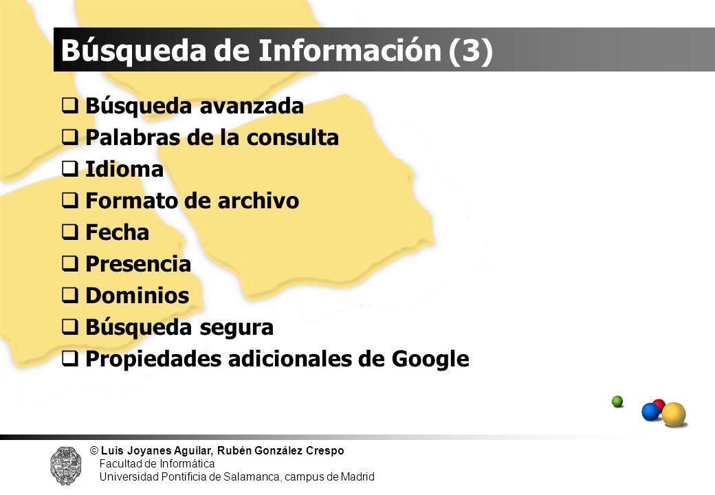 Búsqueda de Información (3)